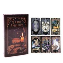 High Quality God Beast Tarot Cards Deck Board Games Cards 4 Languages Tarot Card Read The Mythical Divination Fairies Card Games карты таро u s games systems мечты гайи dreams of gaia tarot