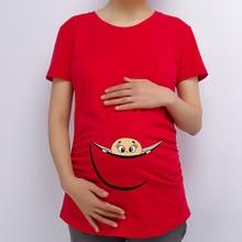 European American Plus Size Summer Apparel Cotton Women font b Maternity b font Pregnant T shirt