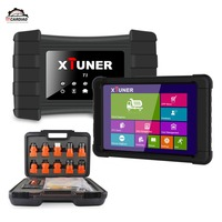 Xtuner T1 Heavy Duty Truck Diagnostic Scanner ABS Airbag DPF OBD2 Scanner for Trucks Diesel With 8 inch WIN10 OBD2 Autoscaner