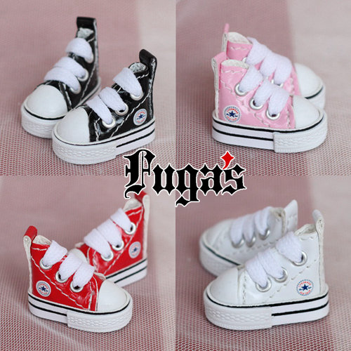 fashion style 1 8 BJD Shoes PU plimsolls 6 Colors Back Zip Ankle Boots Fit MSD