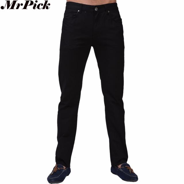 Los hombres Pantalones Casuales Recta Pantalones de Diseño de Moda Para Los Hombres Tamaño 29-36 L9656