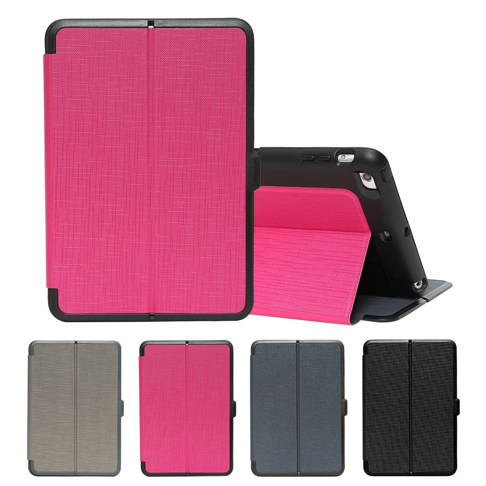 Tablet Case for ipad mini 7.9 inch Shockproof Smart Cover Auto Sleep/Wake Heavy Duty Stand Folding Folio Stand Cover for Apple