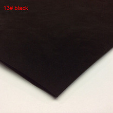 black Genuine pig split leather material sale by whole piece