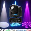 Factory cheap price Party disco dj stage light 30w dmx mini gobo projector spot led moving head for wedding Christmas decoration