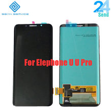 Für 100% Original Elefon U U Pro AMOLED LCD Display + Touch Screen Digitizer Montage Ersatz Teile 5,99 zoll 18:9 lager(China)