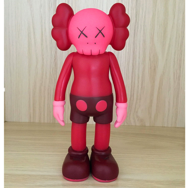 Toy KAWS Clean Slate Brian VOGUE OriginalFake BFF Street Art PVC Action Figure Collectible Model Toy