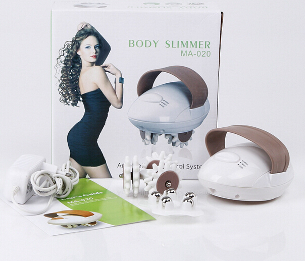 2 set 3D electric full body vibrating massager roller anti cellulite pain relief massage hammer pain relief fat loss weight