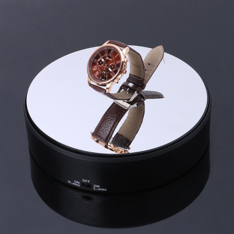 Adjustable-Battery-Powered-Motorized-Rotary-360-Degree-Rotating-Jewelry-Display-Stand-Turntable-Packaging-Tool
