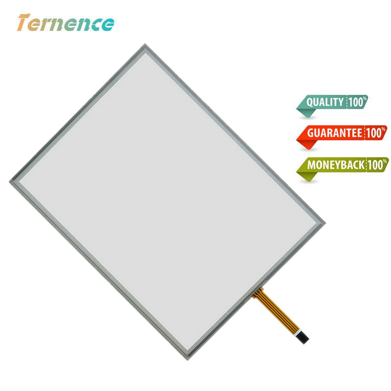 15 inch 4 wire 322mm*247mm Resistive Touch Screen Digitizer for cash register queuing machine Display the touchpad touch panel 15 inch 4 wire touch screen usb port controller card function glass repair replacement 322 247mm touch panel free shipping