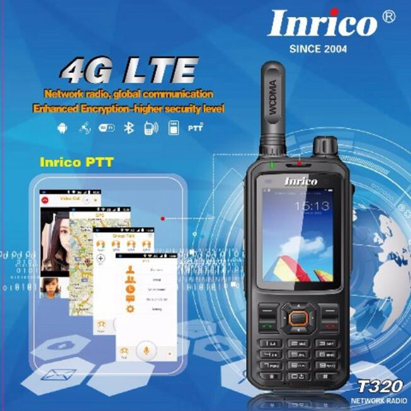New 4G network radio android 6.0 system global call intercom transceiver mobile phone radio walkie talkie with accessories-in Walkie Talkie from Cellphones & Telecommunications
