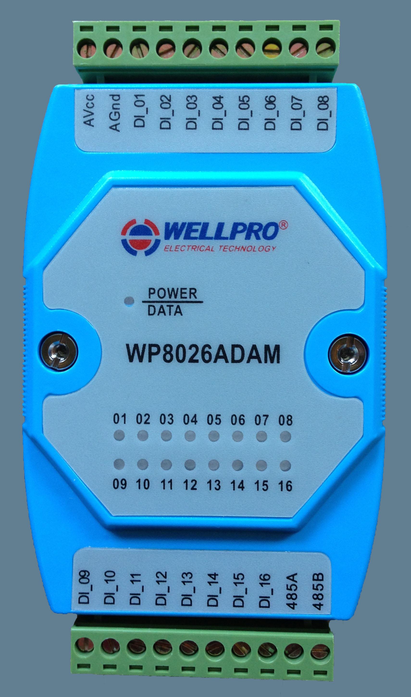 цена на Digital input module switch module isolation type 16 DI RS485 MODBUS communication