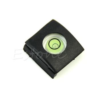 OOTDTY Hot Shoe Cover Cap Bubble Spirit Level For Canon Nikon Olympus Pentax DSLR  Dropshipping 1