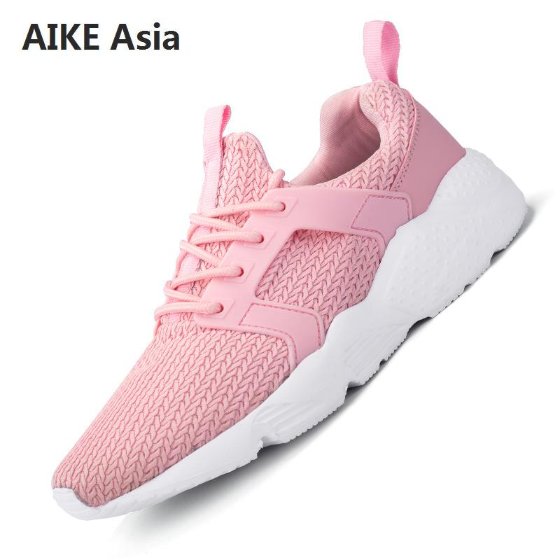 Blanc Dames Zapatos Mujer photo Chaussures Maille E40 Respirant Color Femmes Léger Automne Color Photo 2018 De Mode Sport UPzvpUqx