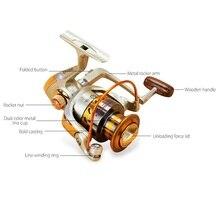 Metal Spinning Fishing Reel Fly Wheel For Fresh/Salt Water Sea