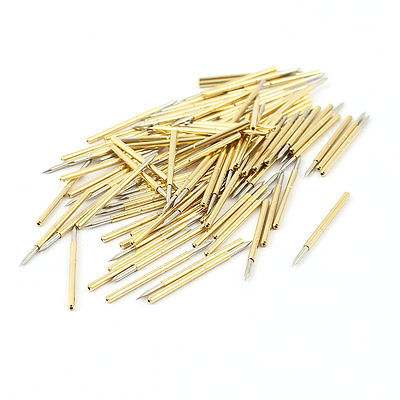 100 Pieces P160-B1 1.0mm Spear Tip Spring PCB Testing Contact Probes Pin bathroom waterproof merry christmas pattern shower curtain