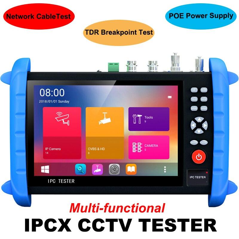 SEESII 8600PLUS IPC Camera Monitor Tester 1920*1200 CVBS Test IP Discovery USA