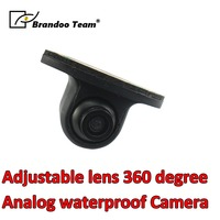 Adjustable lens 360 degree analog Car camera