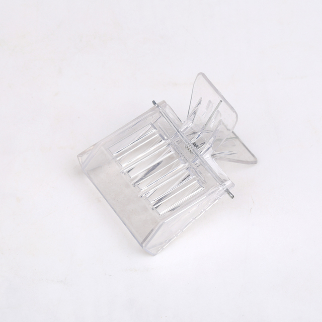 Hot Sale 2 PCS Beekeeping equipment Isolation room Insectary box Bee Tools Queen cage Colorless plastic clip Bee Clip