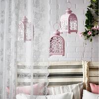 Kreative Europäischen stil Retro Kerzenhalter Hohlen Geschnitzt Hochzeit Kerzenständer Dekoration Eisen Glas Wind Lampe Leuchter