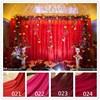 Synthetic Silk Satin Fabric For Wedding Birthday Stage Decoration Organza Fabric Table Curtain Gift Pack Lining