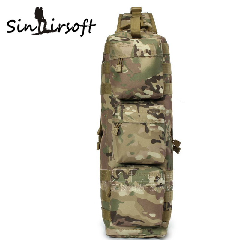 Airborne Airsoft Paintball Molle Backpack Housekeeper Travel Bag fighting shoulder bags Attack bag men s backpack
