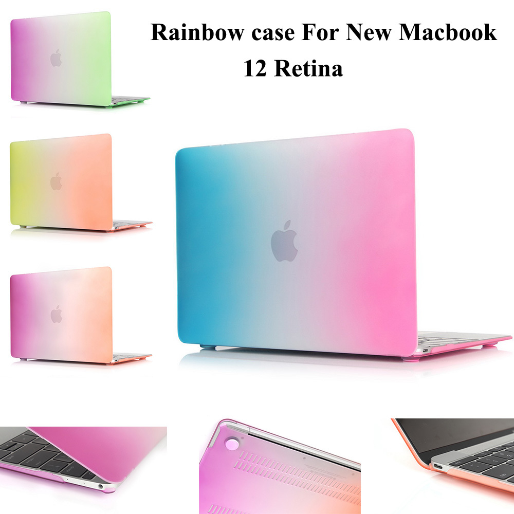the latest 20025 f69a7 US $9.48 |For 2015 new MacBook 12 inch with Retina Display Rubberized Slim  Hard Matte case cover laptop bag for mac book 12