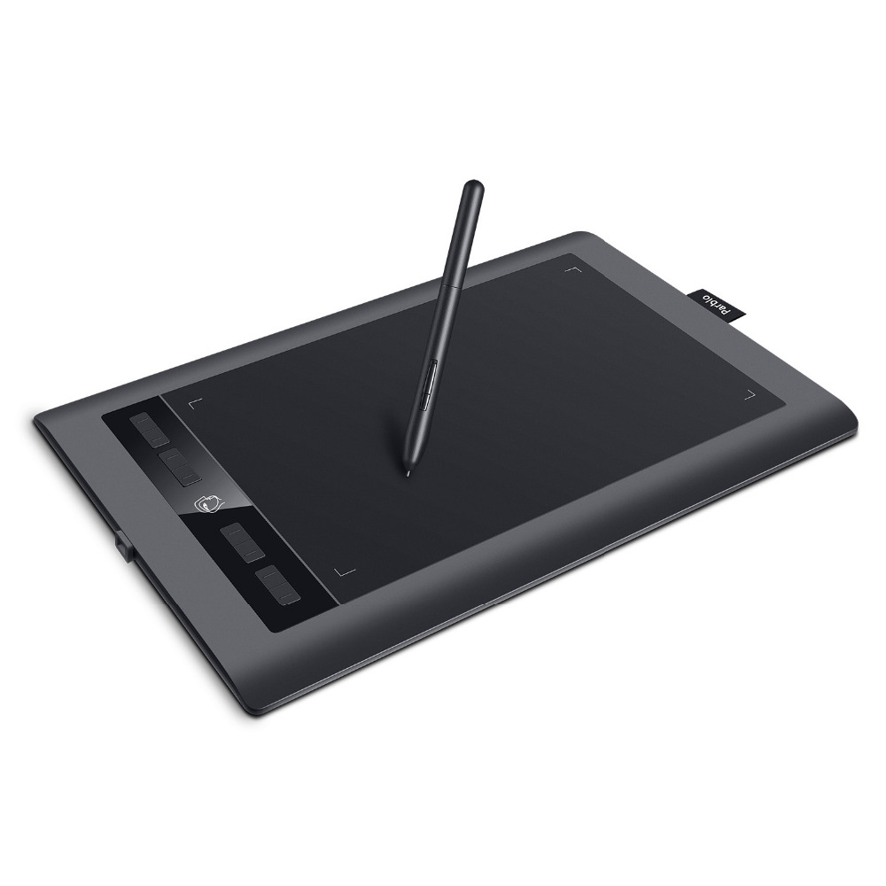 Parblo A610S Art Digital Graphics Tablet Drawing Painting Board 10x6 Active Area Battery free Pen with