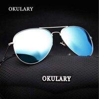 New Brand Polarized Sunglasses Men Classic Retro Pilot Glasses Color Polaroid Lenses Driving Women Sunglasses UV400
