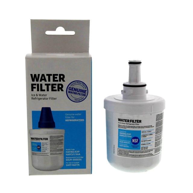 מכירה לוהטת באיכות גבוהה ביתי Da29 00003g אקווה טהור בתוספת מקרר מים מסנן החלפה עבור Samsung אספקת מים מסנן 1 חתיכה