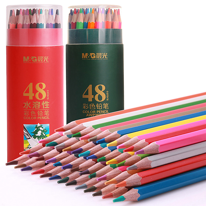 48 Colour Pencil Wood Colored Drawing Pencil Artist Painting Oil Color Pencil For School Drawing Sketch Art Supplies цена