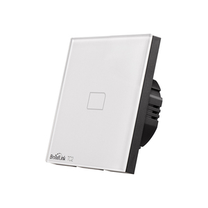 Image 4 - Broadlink TC2 1/2/3Gang EU Standard Light Switch Modern Design White Touch Panel Wifi Wireless Smart Control Via RM Pro/RM4 pro