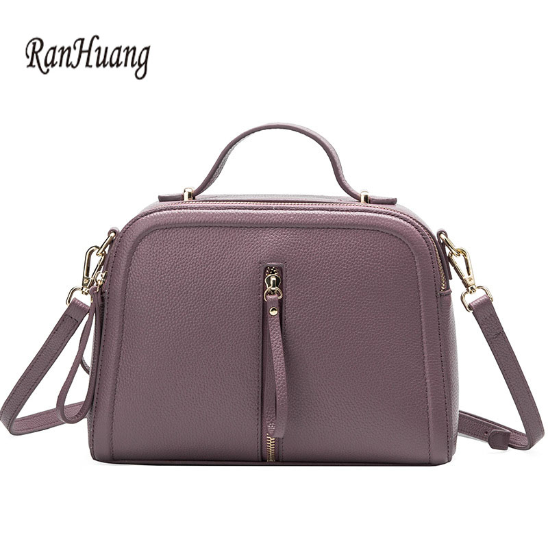 RanHuang New 2017 Women Luxury Handbags High Quality Genuine Leather Handbags Women's Small Shoulder Bags Fashion Messenger Bags ranhuang brand new 2017 high quality women genuine leather backpack women s luxury backpack fashion bags for teenage girls a871