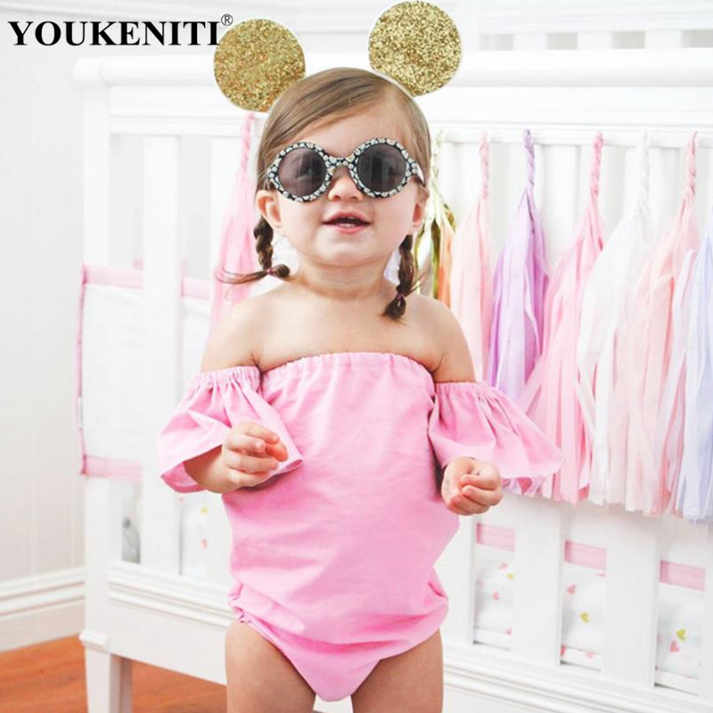 2018 clothes for newborn body girls brand new girls babysuit pink kids jumpers wholesale price free shipping children swimsuits