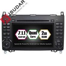 Android 7.1 2 Din 7 Pulgadas de Coches Reproductor de DVD Para Mercedes/Benz Sprinter/W209/W169/Viano/Vito/B200 RAM 2G WIFI GPS de Navegación de Radio