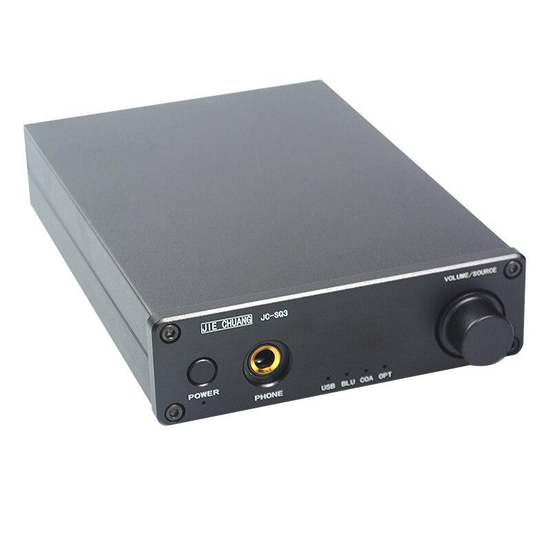 JIE CHUANG JC SQ3 Bluetooth CSR8670 USB DAC AK4490 AUDIO Decoder Amplifiers TPA6120 APTX HD