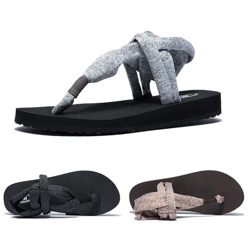 ①  Женские сандалии Гладиатор Сандалии Летние туфли женские сандалии на плоской подошве римские кроссов ①