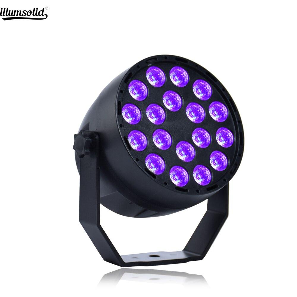 Par Led Uv Light 18x3W Ultraviolet Black Lights For Party Bar Club DJ Dsico KTV Wedding Pub Church Show