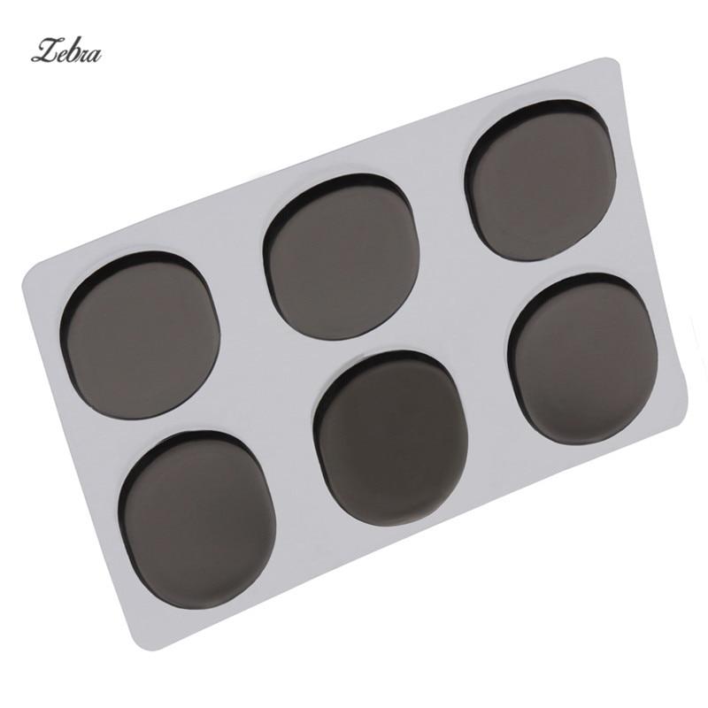 zebra 6pcs snare drum mute pad drum damper gel pads snare drum muffler mute transparent. Black Bedroom Furniture Sets. Home Design Ideas