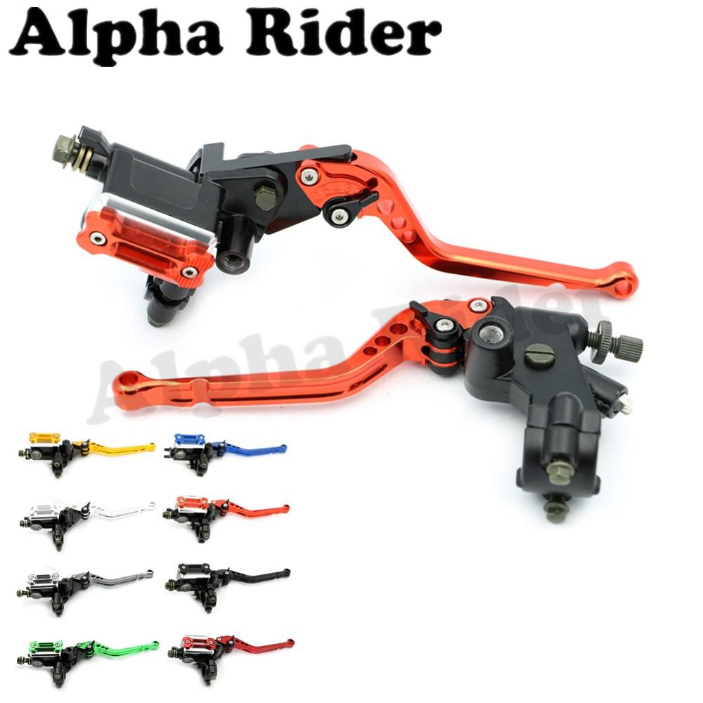 7/8 22mm Adjustable Cable Clutch Brake Master Cylinder Levers for Yamaha YZF R1 R6 Honda CBR 250R 300R 600RR 900RR 919RR 954RR 6 colors cnc adjustable motorcycle brake clutch levers for yamaha yzf r6 yzfr6 1999 2004 2005 2016 2017 logo yzf r6 lever