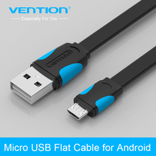 Vention Micro USB 2.0 Cable Mobile Phone Cable 1m/1.5m/2m Data Sync Charger Cable for Android HTC Samsung SONY