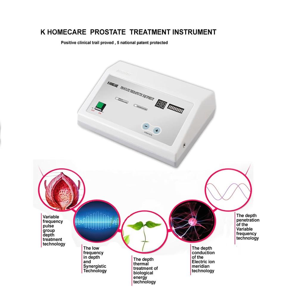 Portátil Fisioterapia Prostatite Cura Instrumento Massagem Prostática Massageador Equipamentos Médicos