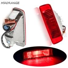 цена на MZORANGE 1 Pair Middle Rear Bumper Reflector Light Lamp Tail For Mitsubishi ASX RVR Outlander Sport Rear Bump Light Brake Light