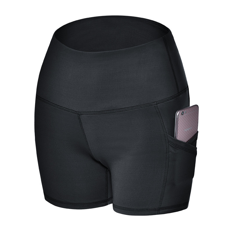 Tight Summer Shorts For Body building Hip lifting Yoga Running And Fitness Short Leggings Women Goirls Sport Workout Shorts 2019 in Yoga Shorts from Sports Entertainment