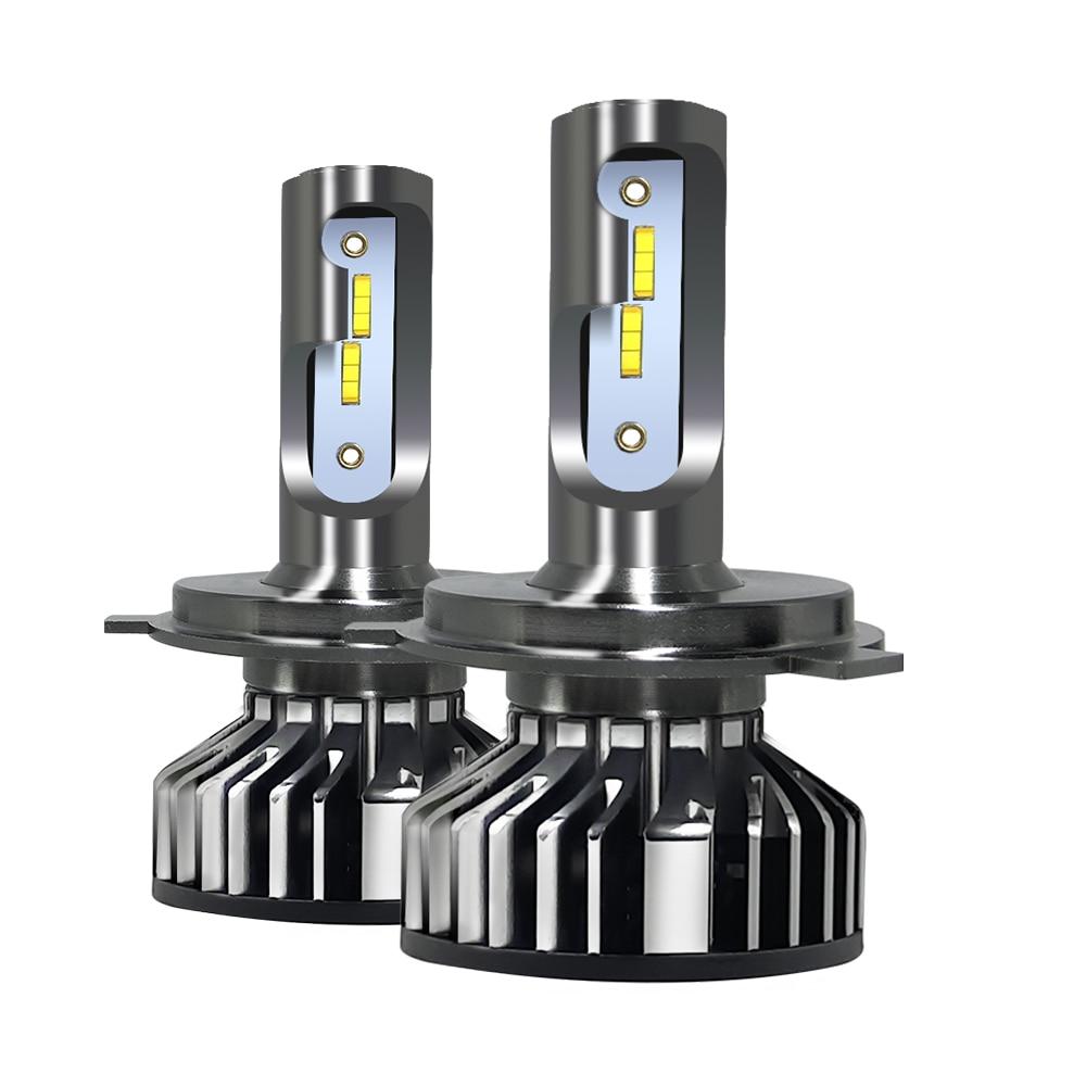 H4 LED H7 H11 CSP LED Car Headlight Bulb 55W H8 9005 HB3 9006 HB4  H1 8000lm Auto Headlamp Fog Lights Warm White 5500K 12V Lamp