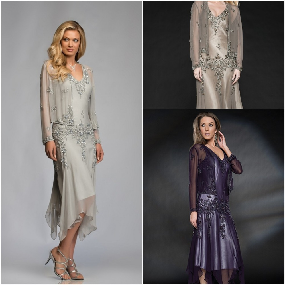 Mother Of The Bride Dresses: Aliexpress.com : Buy Silver Beading Mother Of The Bride
