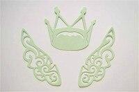 DIY Scrapbook Wings Crown Dies Angel Wings Dies Cutter DM 946
