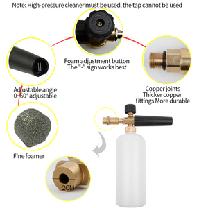 Image 3 - Car Washing Foam Gun For Karcher K Sprayer Washer Snow Foamer Lance Car Water Soap Shampoo Sprayer Foam Pump Auto Wash Foam Pump