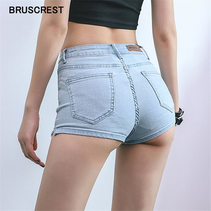 2019 Summer Jeans Mini High Waist Shorts Women Booty Shorts Kawaii Sexy Denim Shorts Feminino Denim Short Mujer