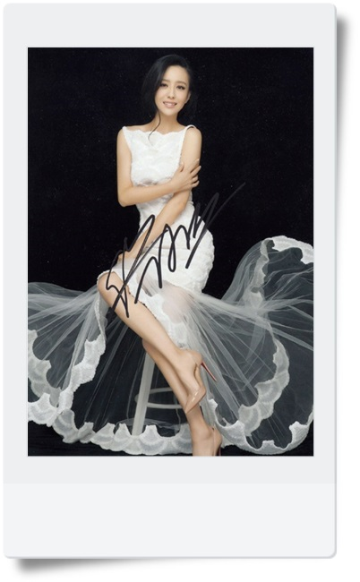 signed Tong Liya autographed photo 7 inches 2 versions chinese star  freeshipping 082017 signed wolf warriors celina jade autographed original photo 7 inches 7 versions free shipping 082017