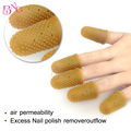 12pcs/box Nail Art Latex Rubber Finger Cots Protector Gloves&Remover Wraps Nail Tools